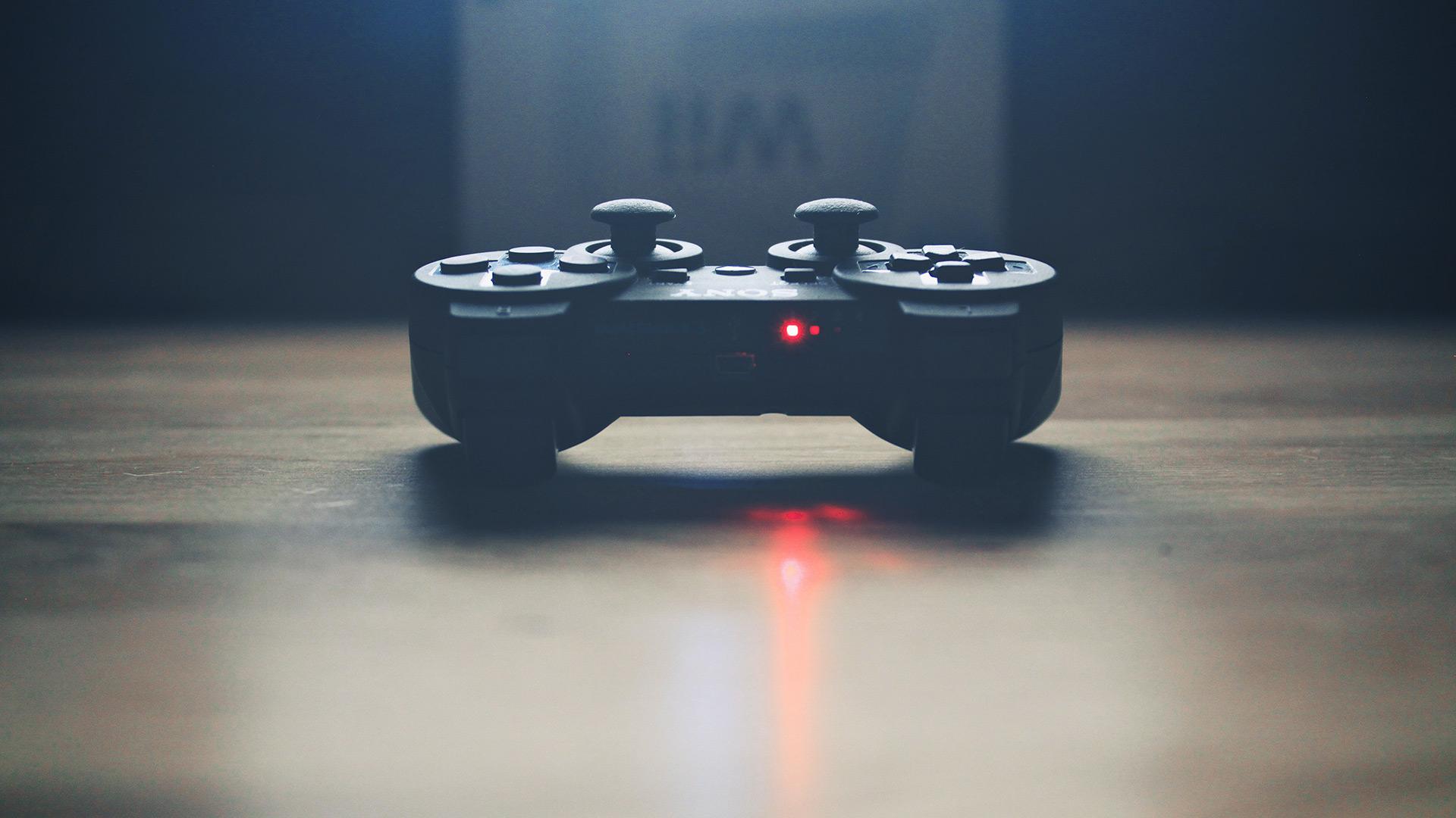 Playing Video Game